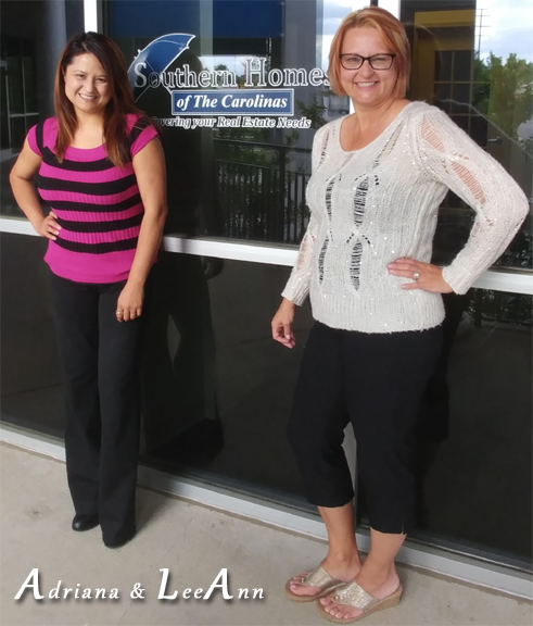 Adriana and LeeAnn Southern Homes Insurance